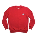 에이치이(HE) SlowMotion Crewneck Sweat Red