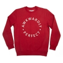 에이치이(HE) AP Logo Crewneck Sweat Red