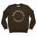 AP Logo Crewneck Sweat Khaki