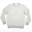 에이치이(HE) AP Logo Crewneck Sweat Gray