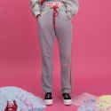 딤에크레스(DIM. E CRES) STRING COLOR MATCHING PANTS(GREY)