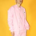 베이직코튼(BASIC COTTON) color logo jumper - PINK