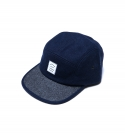 유앤엘씨(U&LC) WOOL CAMP CAP_navy