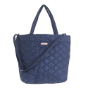 르버앤코(REVER&CO) QUILTING SHOPPER BAG NAVY