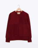 프랭크 도미닉(FRANK DOMINIC) QUATER SWEAT-SHIRTS(BURGUNDY)