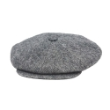 뉴욕 햇(NEW YORK HAT CO.) WOOL BIG APPLE HERRINGBONE GREY