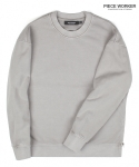 피스워커() Vintage heavy sweat shirt side Jipper - Light Khaki