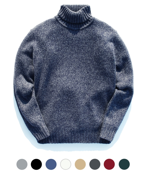 [제멋] J win wool 50 turtleneck knit(0769)