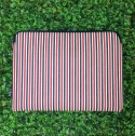 FEB!S Laptop pouch X Fashion clutch _ Red&Navy stripe