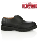 레드우드(REDWOOD) [REDWOOD]Y팁 더비 슈즈 Y-tip derby shoes black