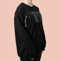 Black Tassel Sweatshirt