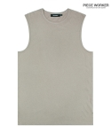 피스워커() Vintage sleeveless - Light Khaki / Semiover