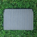 FEB!S Laptop pouch X Fashion clutch _ Navy&Black stripe