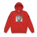 Knit Hooded Pullover - Titan (True Red)