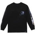 15 PRIMITIVE BLACKPACK SUPERNOVA L/S TEE BLACK
