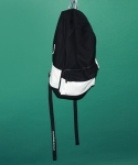 시그냅(SIGNAP) FLOW COATED CANVAS BACKPACK CHROME BLACK