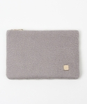 Simpiy wool clutchbag - gray