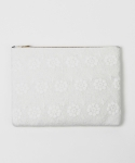 Seraphic flower wool clutchbag