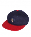 몬티에레이(MONTIEREI) Whiteboy Navy & Red(Wool)