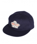 Monti Ribbon Patch(Wool) - Navy