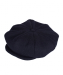 NEWSBOY CAP(Wool) - NAVY
