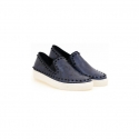 슈보니에타(SHOBONYATA) 배우 주원협찬 CROCODILE SKIN STUD SLIPON SNEAKERS_S5038