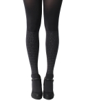 유니팝 레그웨어(UNIPOP LEGWEAR) Rights of woman (Black)