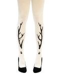 유니팝 레그웨어(UNIPOP LEGWEAR) Miss Deer (Cream)