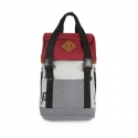 [G.ride] ARTHUR-S Backpack - Red/Grey
