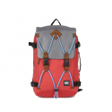 지라이드(G-RIDE) [G.ride] ALBERT Backpack - Grey/Red