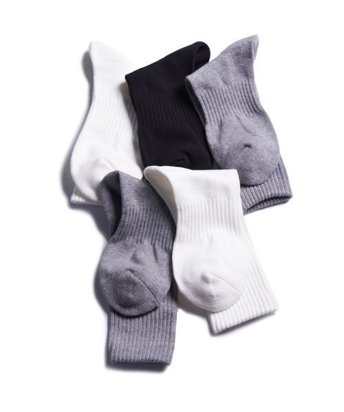 1507(1507) 1507 3PACK BASIC SOCKS