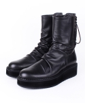 데이빗스톤(DAVID STONE) DVS DRAPE 003 back lace-up boots