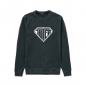 유터(IUTER) LOGO RAGLAN SCREEN BLACK