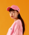 베이직코튼(BASIC COTTON) color logo cap - PINK