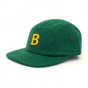 비블랙(BEBLACK) B.BLACK SPELLING B WOOL CAMP CAP_GREEN
