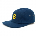 비블랙(BEBLACK) B.BLACK SPELLING B WOOL CAMP CAP_BLUE