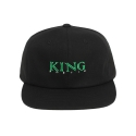 킹포에틱(KING POETIC) [킹포에틱] BALL CAP BIGGIE 001 (BLACK/GREEN)