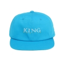 킹포에틱(KING POETIC) [킹포에틱] BALL CAP BIGGIE 001 (BLUE/WHITE)