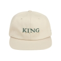 킹포에틱(KING POETIC) [킹포에틱] BALL CAP BIGGIE 001 (LIGHT BEIGE/GREEN)
