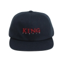 킹포에틱(KING POETIC) [킹포에틱] BALL CAP BIGGIE 001 (NAVY/RED)