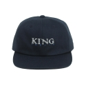 킹포에틱(KING POETIC) [킹포에틱] BALL CAP BIGGIE 001 (NAVY/WHITE)