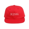 킹포에틱(KING POETIC) [킹포에틱] BALL CAP BIGGIE 001 (RED/WHITE)
