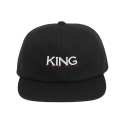 킹포에틱(KING POETIC) [킹포에틱] BALL CAP OG 002 (BLACK/WHITE/RED)