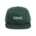 킹포에틱(KING POETIC) [킹포에틱] BALL CAP OG 002 (GREEN/WHITE)