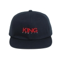 킹포에틱(KING POETIC) [킹포에틱] BALL CAP OG 002 (NAVY/RED)