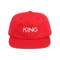 킹포에틱(KING POETIC) [킹포에틱] BALL CAP OG 002 (RED/WHITE)