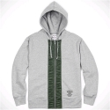 FLIGHT FULL-ZIP HOODIE (HEATHER GREY)