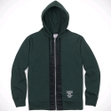 아카풀코 골드(ACAPULCO GOLD) FLIGHT FULL-ZIP HOODIE (DARK GREEN)
