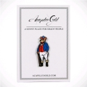 아카풀코 골드(ACAPULCO GOLD) PARTY BEAR LAPEL PIN (METAL/GOLD)