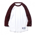 챔피온() [인기재입고] 17SS Champion Raglan Baseball T-shirts BURGUNDY